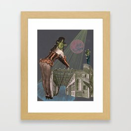 Sagacity Framed Art Print