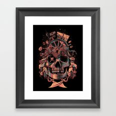 Dead Pirate's Gold Framed Art Print