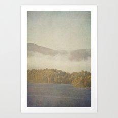 Fog and Color Art Print