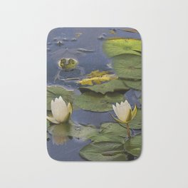 Hammond Pond - frog Bath Mat