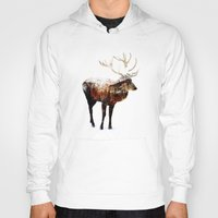 andreas preis Hoodies featuring Arctic Deer by Andreas Lie