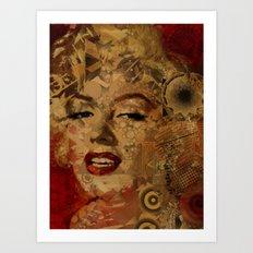 Monroe Pop Abstract  Art Print