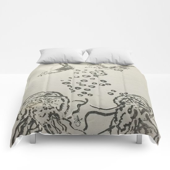 Under The Sea Sketch Comforters
