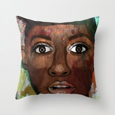 It's A Cold War Throw Pillow