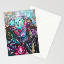 She Buds, She Blooms Stationery Cards