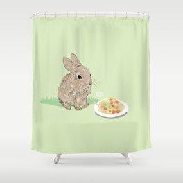 Sweet Rabbit Shower Curtain