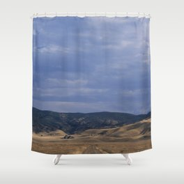 Black & Tan Shower Curtain
