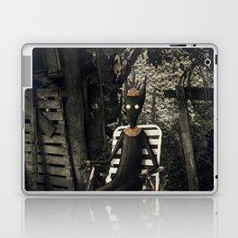 Disfrutando del silencio Laptop & iPad Skin