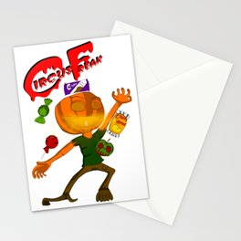 Circus Freak Stationery Cards
