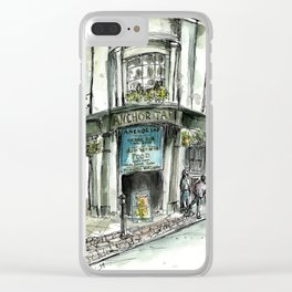 Anchor Tap Clear iPhone Case