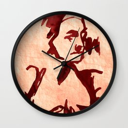 Old Woman nude Wall Clock