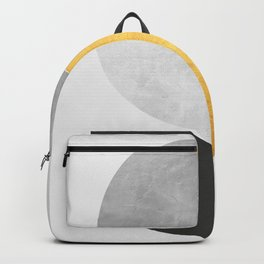 Golden Geometric Art VII Backpack