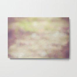 Nature Blur Metal Print