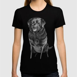 Black Labrador T-shirt
