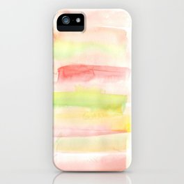 171122 Self Expression 7| Abstract Watercolors iPhone Case