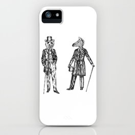 """Brix and Bailey """"Good Morning Sir"""" iPhone Case"""