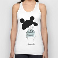 minnie Tank Tops featuring MINNIE ME by Manola  Argento