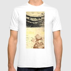 moodboard No.12 MEDIUM White Mens Fitted Tee