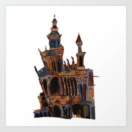 Bruselas Art Print