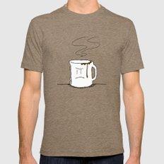 Fika Mens Fitted Tee Tri-Coffee MEDIUM