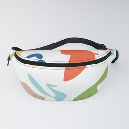 Vintage abstract Fanny Pack