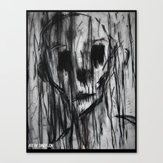 Ghost In the Rain Canvas Print