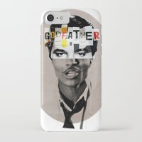 godfather iPhone & iPod Cases featuring Godfather Mix 1 white by Marko Köppe