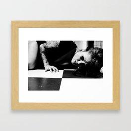 Do you feel it  Framed Art Print