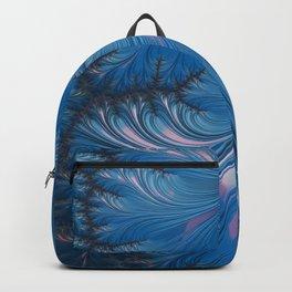 Winter Dusk - Fractal Art Backpack
