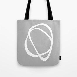 Interlocking Two C – Minimalist Line Abstract Tote Bag