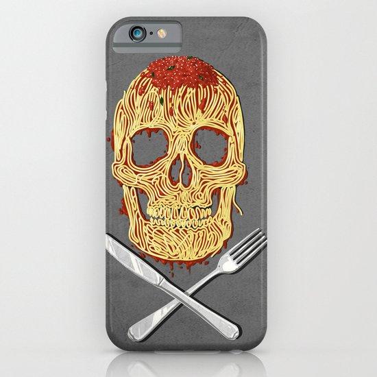 Spaghetti Skull iPhone & iPod Case
