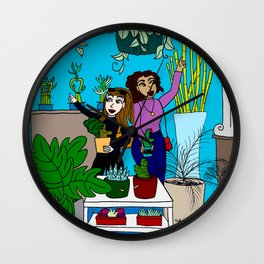 The Plant Shop Wall Clock