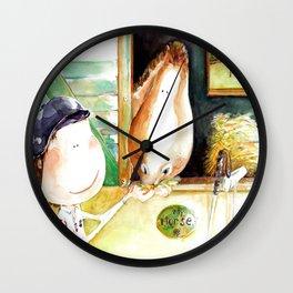 Polo Horse Style Wall Clock