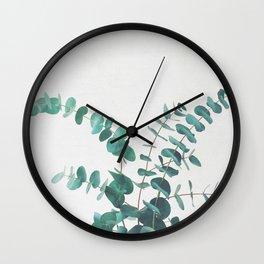 Eucalyptus II Wall Clock