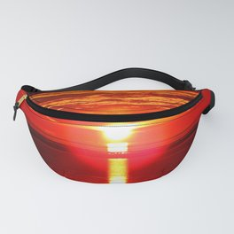 Fireball and the sea Fanny Pack