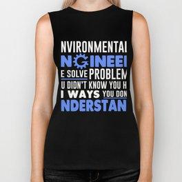 Environmental Engineer T-Shirt. Biker Tank