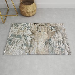 White Decay IV Rug