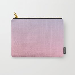 TRANSIENT FEELING - Minimal Plain Soft Mood Color Blend Prints Carry-All Pouch
