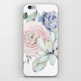 Succulent Blooms iPhone Skin