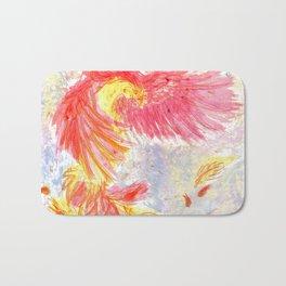 Firey Phoenix Bath Mat