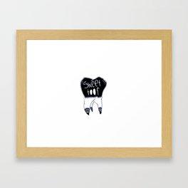 Sweet Toof Framed Art Print