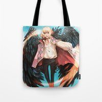 howl Tote Bags featuring Howl by ShinoX