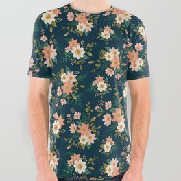Spring flowers All Over Graphic Tee