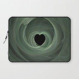 Valentine's Fractal II - Dark Laptop Sleeve