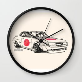 Crazy Car Art 0177 Wall Clock