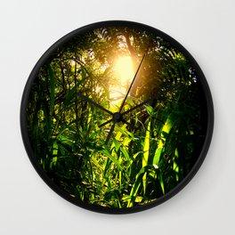 the jungle Wall Clock