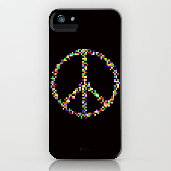 A Peace of Retro iPhone Case