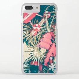 Santa Claus 4 Clear iPhone Case