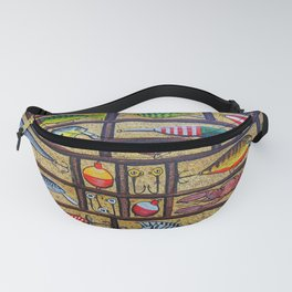 Fishing Lures Collection  Fanny Pack