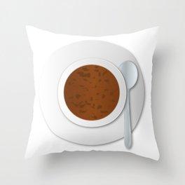 Oxtail Soup Throw Pillow